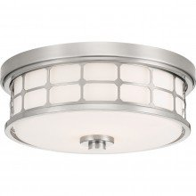 Elstead - Quoizel - Guardian QZ-GUARDIAN-F-BN Flush Light