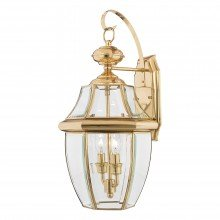 Elstead - Quoizel - Newbury QZ-NEWBURY2-L-PB Wall Light