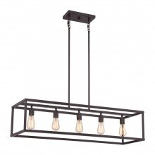 Elstead - Quoizel - New Harbor QZ-NEW-HARBOR-ISLE Chandelier