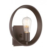 Elstead - Quoizel - Theater Row QZ-THEATER-ROW1WT Wall Light