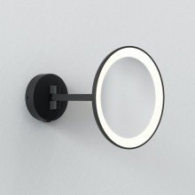 Astro Lighting - Mascali Round LED 1373011 - IP44 Matt Black Mirror