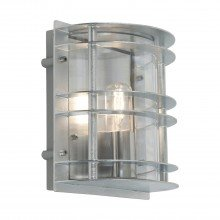 Elstead - Norlys - Stockholm ST-FLU-E27-GAL-C Bulkhead Wall Light