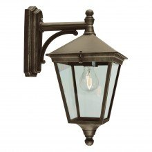 Elstead - Norlys - Turin T2-BLK-GOLD Wall Light