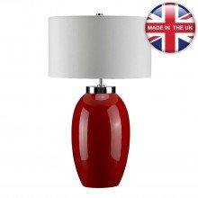 Elstead - Victor VICTOR-LRG-TL-RD Table Lamp