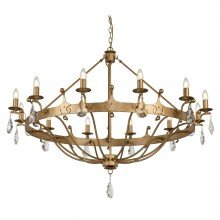 Elstead - Windsor WINDSOR12-GOLD Chandelier