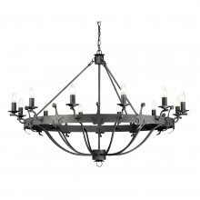 Elstead - Windsor Graphite WINDSOR12-GR Chandelier