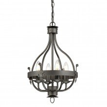 Elstead - Windsor Graphite WINDSOR4-GR Chandelier