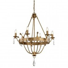 Elstead - Windsor WINDSOR6-GOLD Chandelier
