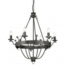 Elstead - Windsor Graphite WINDSOR6-GR Chandelier