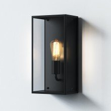 Astro Lighting - Messina 200 1183028 - IP44 Textured Black Wall Light
